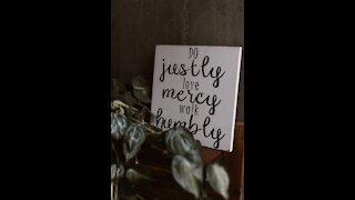 mercy triumphants over judgement