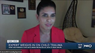 Trauma expert advises parents on coping with their child being abused