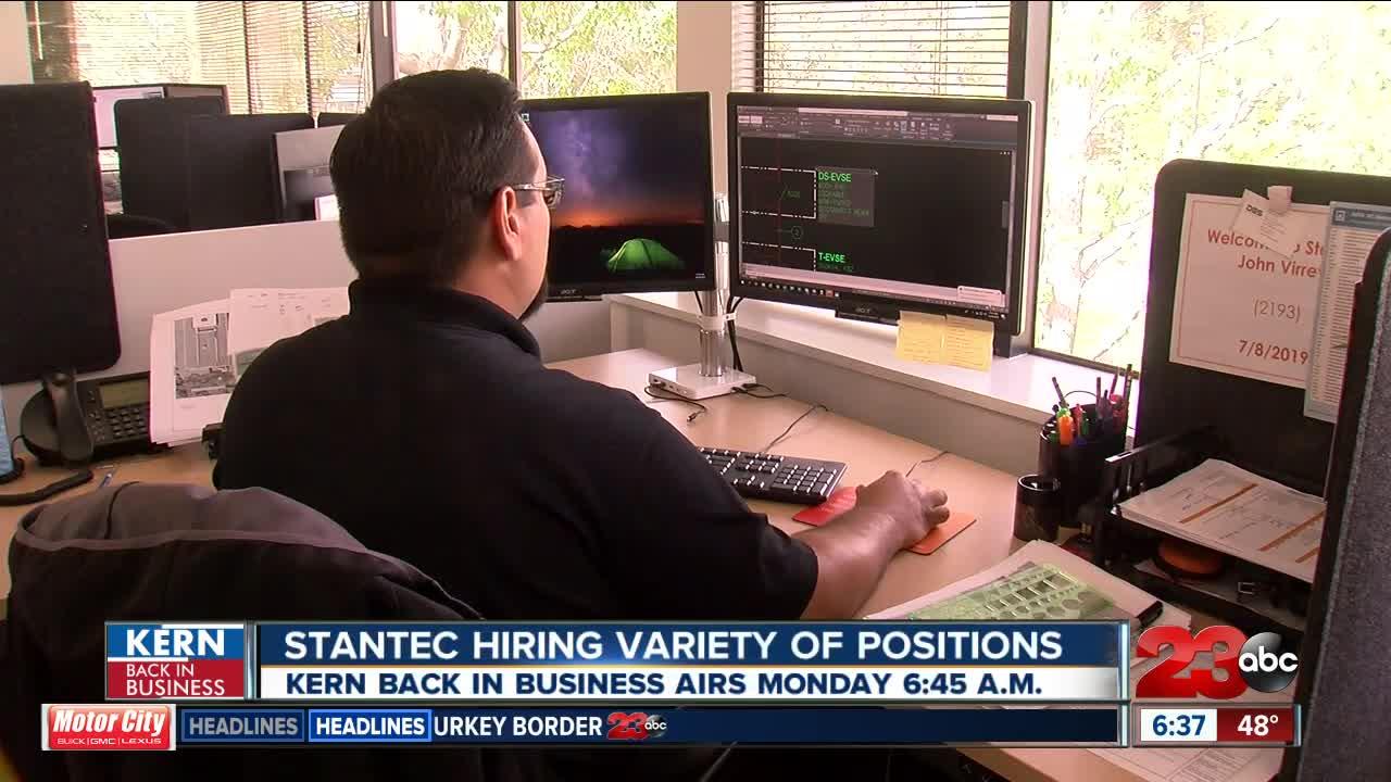 Kern Back In Business: Stantec hiring in Bakersfield