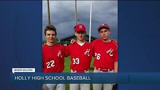 WXYZ Senior Salutes: Holly High School baseball