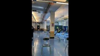 NYC COVID Vaccination Site Nearly Empty Despite High Demand