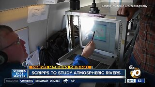 Scripps researchers launch airborne study of atmospheric rivers