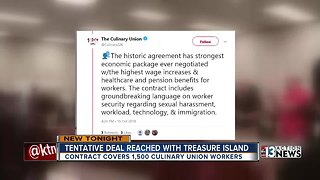Union strikes deal with Treasure Island