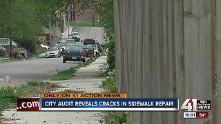 Audit finds cracks in KCMO sidewalk repair program