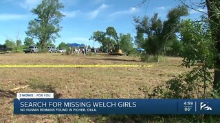 Search for missing Welch girls