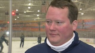 'Always being a role model': Milwaukee Jr. Admirals coach receives excellence award