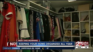 Keeping your home organized all year