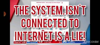 Voting booth isn't connected to internet is a lie!