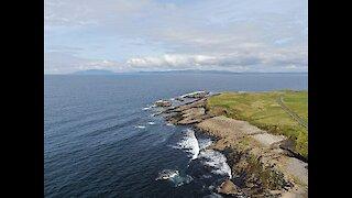 Drone footage captures Ireland's spectacular Northwest coastline
