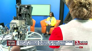Step Up Omaha in need of employers for youth summer internship program