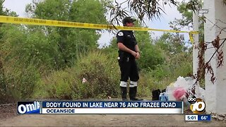 Body found in small North County lake