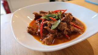 Delicious recipes: Thai beef panang curry