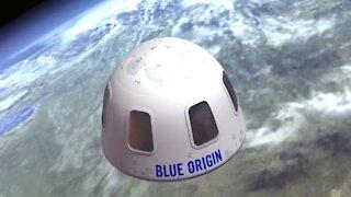Blue Origin Space Flight Ticket Auctions For $28 Million