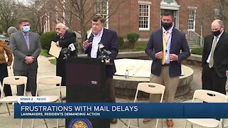 Local leaders, residents call for change to USPS