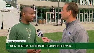 Local leaders celebrate championship win