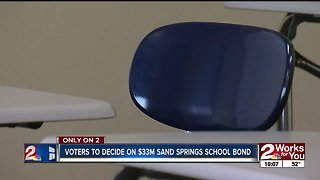 Voters to decide on $33m Sand Springs school bond