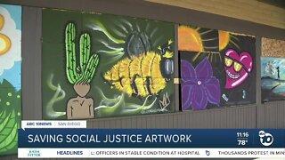 Saving social justice artwork