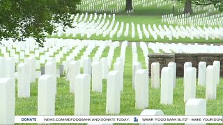 Private wreath laying ceremony at Baltimore National Cemetery honors veterans