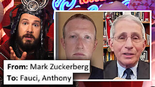CONFIRMED! Leftist-Savior Fauci COLLUDED With Big Tech!