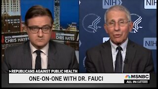Fauci Tells Americans To Get Over Your Vaccine Hesitancy