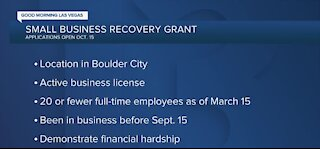More money for Boulder City small business owners