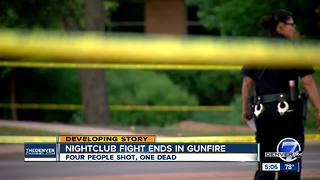 Shooting in Aurora leaves 1 person dead and 3 others injured
