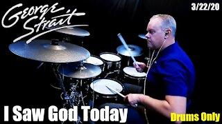 George Strait - I Saw God Today - (Drumless - Drums Only) #GeorgeStrait
