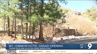 Mount Lemmon Hotel set to welcome guests in Spring