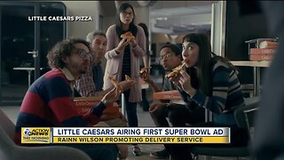 Little Caesars airing first Super Bowl ad