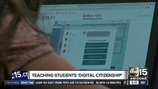 "Teaching students ""digital citizenship"""