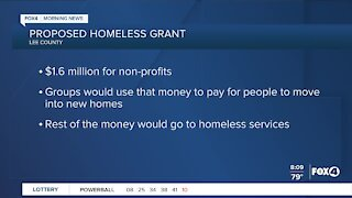 County Commissioners to discuss homeless grant
