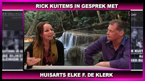 Rick Kuitems in gesprek met Elke F. de Klerk, oprichtster van Artsen voor Waarheid