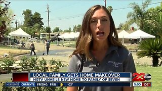 Local family gets home makeover