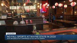 No fall sports at Wayne State in 2020