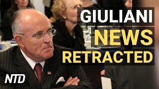 Mainstream Media Retracts Giuliani News; No Prosecution for Many Portland Riot Cases | NTD