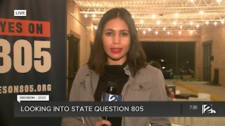 Looking into State Question 805