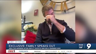 Family demands answers after deputy shoots, kills unarmed man