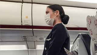 Flight Attendants Worry About Spreading COVID-19 During Flights