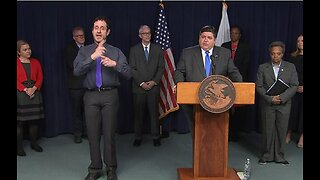 Illinois governor issues 'stay-at-home' order