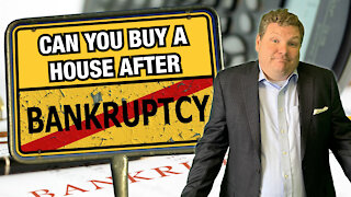 Can You Buy a House After Bankruptcy?