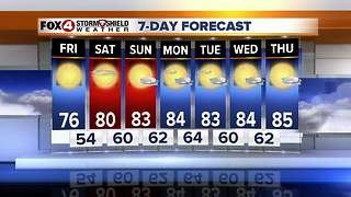 Chilly Friday AM Temps, Warm Weekend Ahead