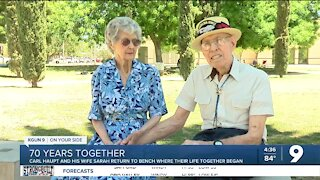 Tucson couple looks back on 70 years together