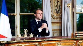 French President Macron -- 'Mandating People Having to be Vaccinated in Order to go to Hospital'
