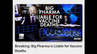 Breaking: Big Pharma is Liable for Vaccine Deaths