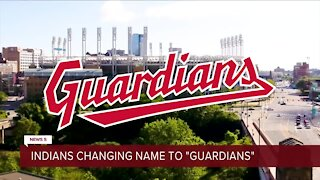Indians changing name to the 'Guardians'