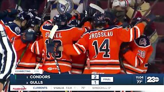 23ABC Sports: Condors defeat Gulls in OT to advance to Divisional Finals