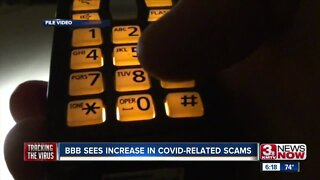 BBB sees increase in COVID related scams