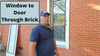Adding Door To Brick Wall