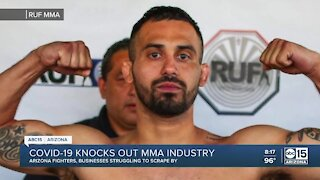 COVID-19 knocks out MMA industry