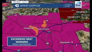 Southern Nevada forecast - Aug. 13